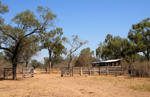 The corral, the heart of each estancia for working with cattle